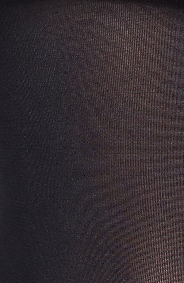 Alternate Image 4  - Donna Karan 'Evolution' Satin Jersey Tights
