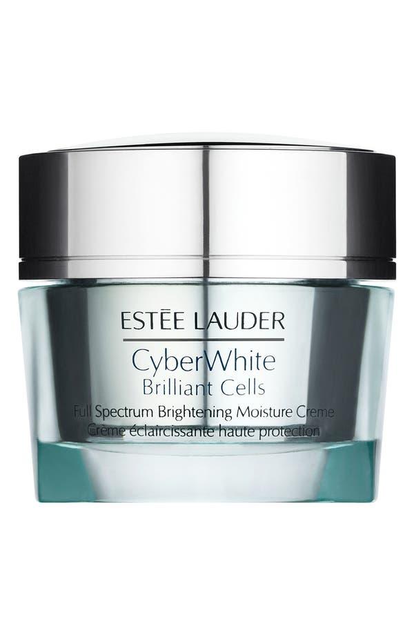 Alternate Image 1 Selected - Estée Lauder CyberWhite Brilliant Cells Full Spectrum Brightening Moisture Creme