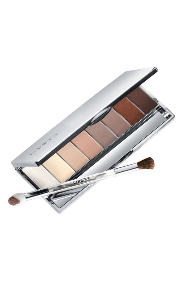 Main Image - Clinique 'All About Shadow' 8-Pan Eyeshadow Palette in Neutral Territory 2 (Limited Edition)