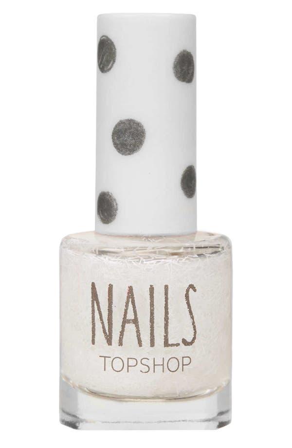 Main Image - Topshop 'Glitter Frenzy' Nail Polish