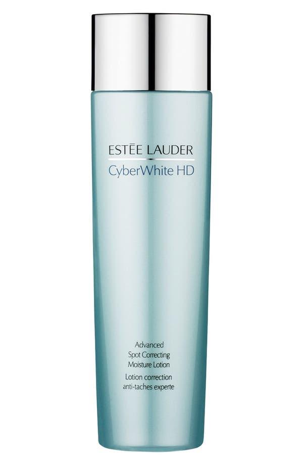 Alternate Image 1 Selected - Estée Lauder 'CyberWhite HD' Advanced Spot Correcting Moisture Lotion