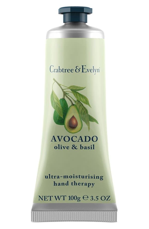 Alternate Image 1 Selected - Crabtree & Evelyn 'Avocado, Olive & Basil' Ultra-Moisturising Hand Therapy