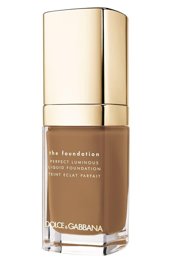 Main Image - Dolce&Gabbana Beauty Perfect Luminous Liquid Foundation