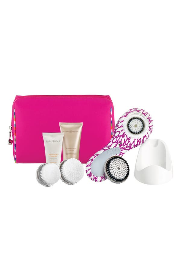 Alternate Image 1 Selected - CLARISONIC 'The Oasis Collection - PLUS' Orchid Garden Sonic Skin Cleansing System for Face & Body ($315 Value)
