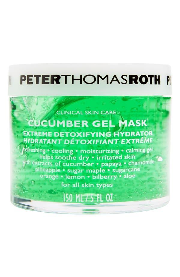 Cucumber Gel Mask,                         Main,                         color, No Color