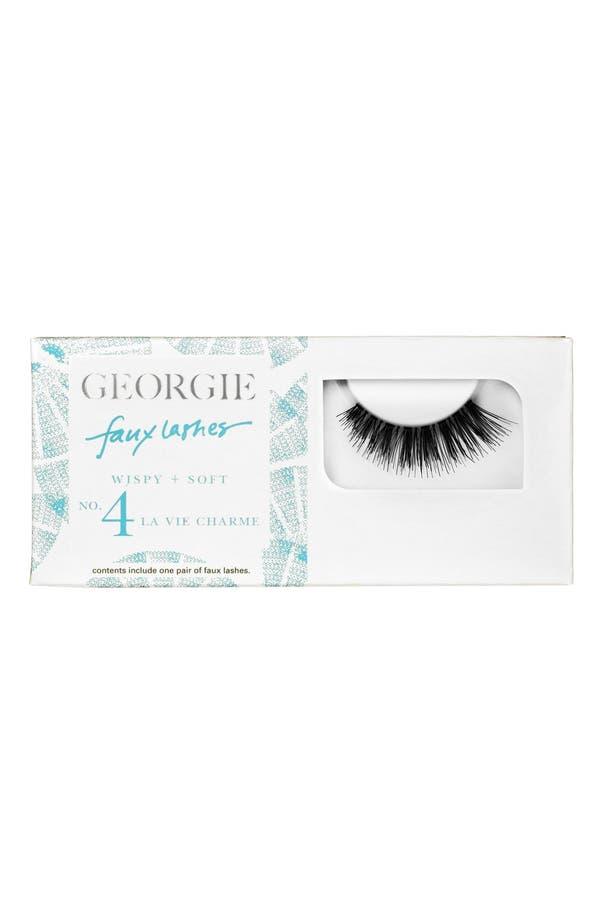 Alternate Image 1 Selected - Georgie Beauty™ 'La Vie Charme' Faux Lashes