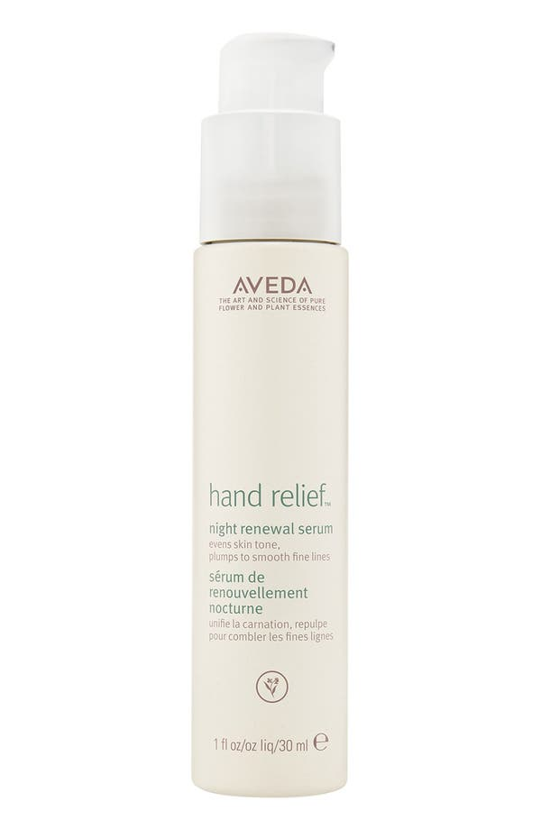 hand relief<sup>™</sup> Night Renewal Serum,                             Main thumbnail 1, color,                             No Color