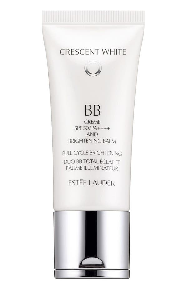 Main Image - Estée Lauder 'Crescent White' Full Cycle BB Créme & Brightening Balm SPF 50
