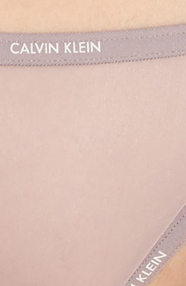 Alternate Image 5  - Calvin Klein Marquisette String Bikini