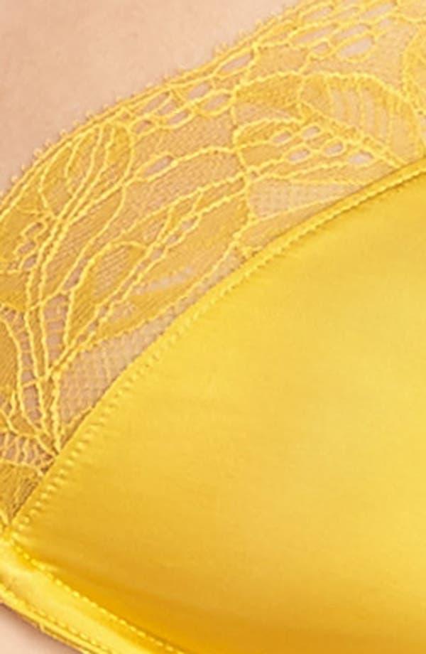 Fleur Underwire Bra,                             Alternate thumbnail 9, color,                             Gold