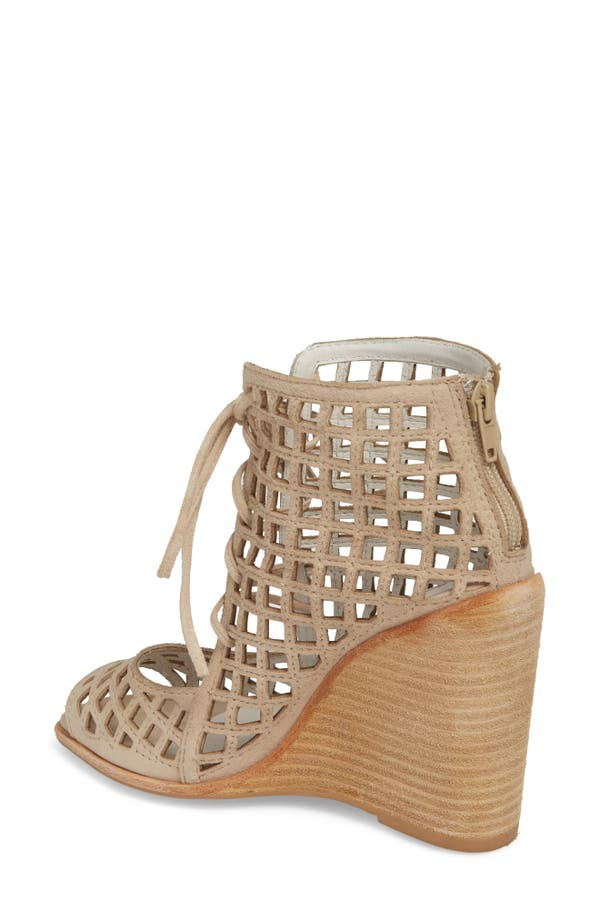 Jeffrey Campbell Women's Cuadro-Hi Wedge Sandal