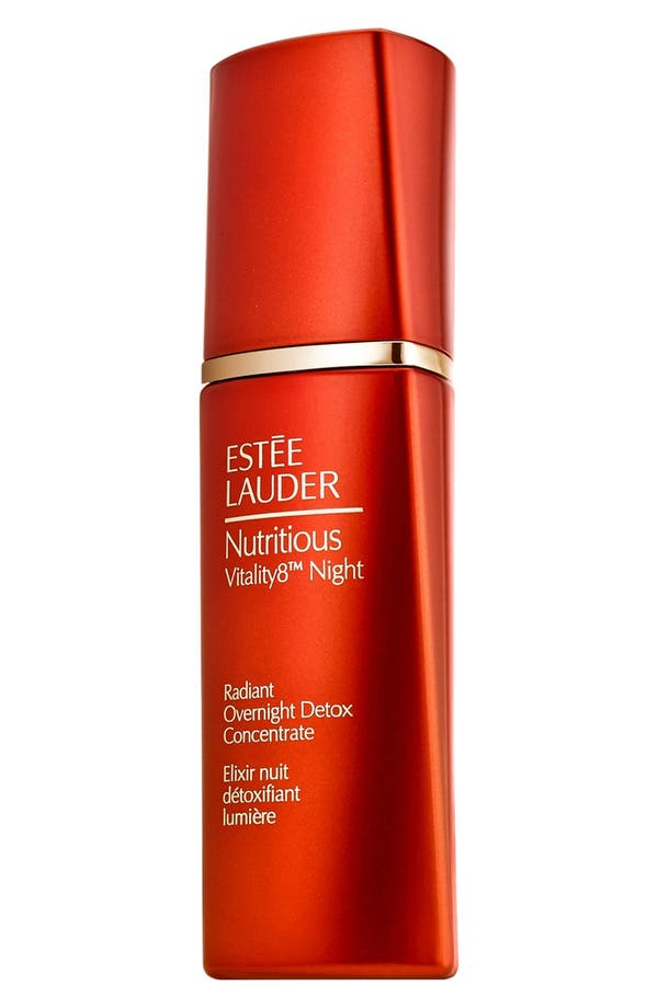 Alternate Image 1 Selected - Estée Lauder 'Nutritious Vitality8™' Night' Radiant Overnight Detox Concentrate