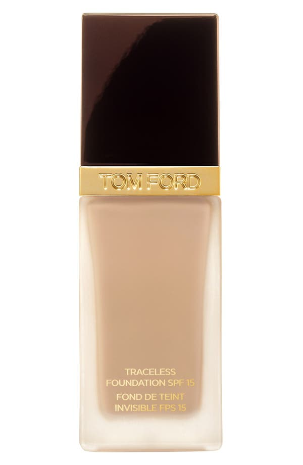 Traceless Foundation SPF 15,                         Main,                         color, 1.0 Alabaster