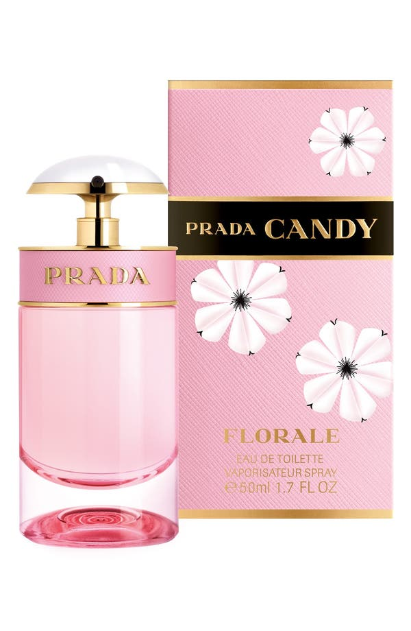 'Candy Florale' Eau de Toilette,                             Alternate thumbnail 4, color,                             No Color