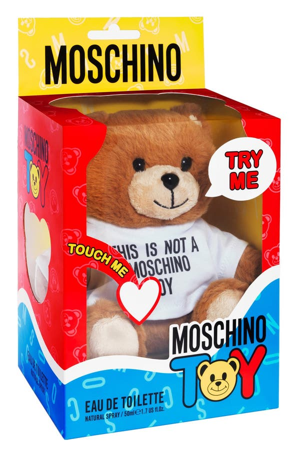 'Moschino Toy' Eau de Toilette,                             Alternate thumbnail 3, color,                             No Color