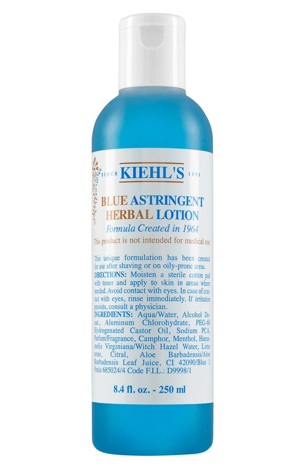 Blue Astringent Herbal Lotion<sup>®</sup>,                         Main,                         color, No Color