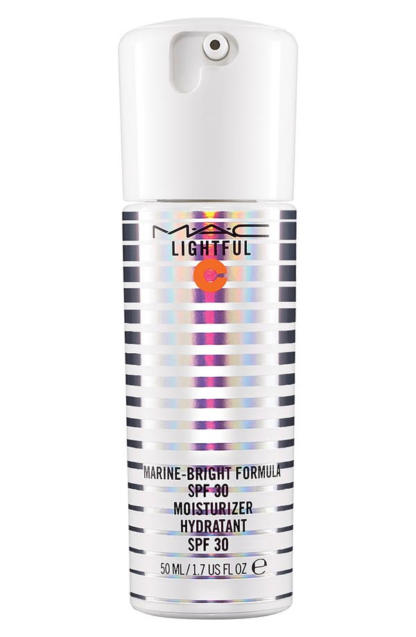 MAC Lightful C Marine-Bright Formula SPF 30 Moisturizer,                         Main,                         color, No Color