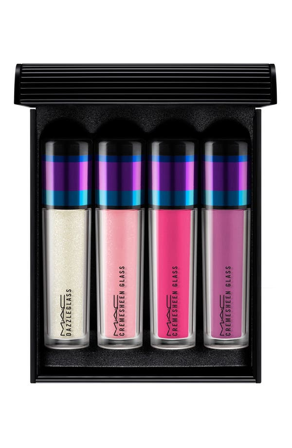 M·A·C 'Irresistibly Charming - Violet' Mini Lip Gloss Set,                         Main,                         color, Violet