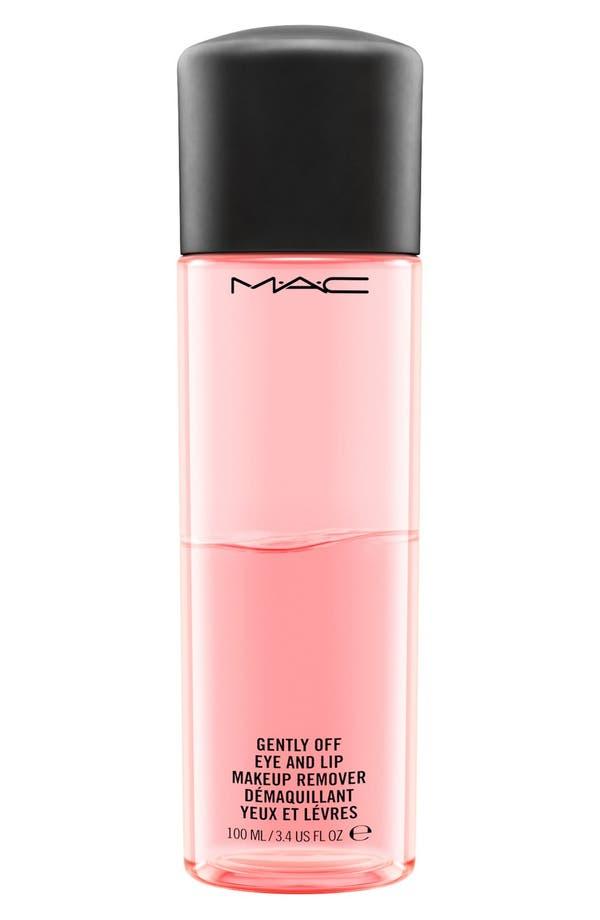 Alternate Image 1 Selected - MAC Gently Off Eye & Lip Makeup Remover