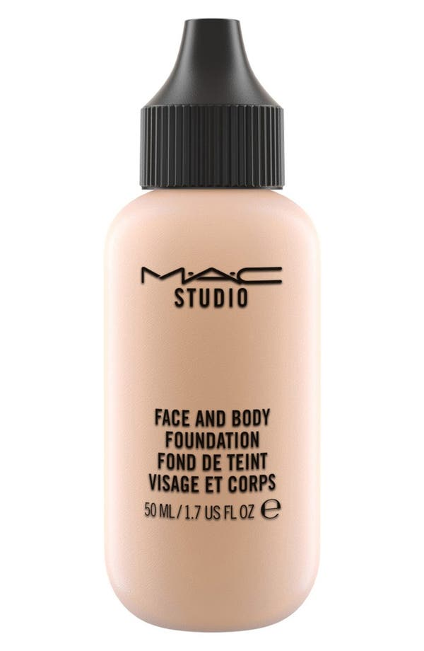 MAC M·A·C Studio Face and Body Foundation,                             Main thumbnail 1, color,                             N3