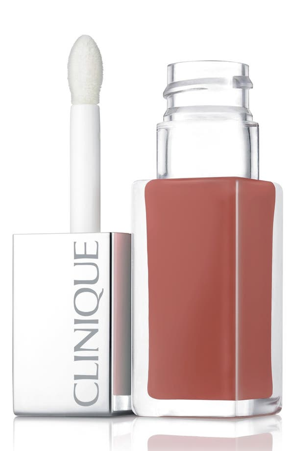 Alternate Image 1 Selected - Clinique 'Pop Lacquer' Lip Color & Primer