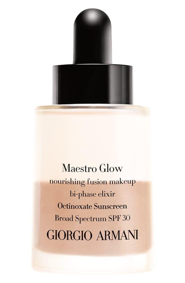 'Maestro Glow' Nourishing Fusion Foundation Bi-Phase Elixir Broad Spectrum SPF 30,                             Main thumbnail 1, color,                             05.5