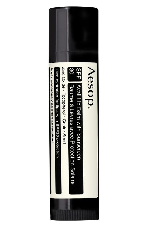 Alternate Image 1 Selected - Aesop Avail Lip Balm with Sunscreen