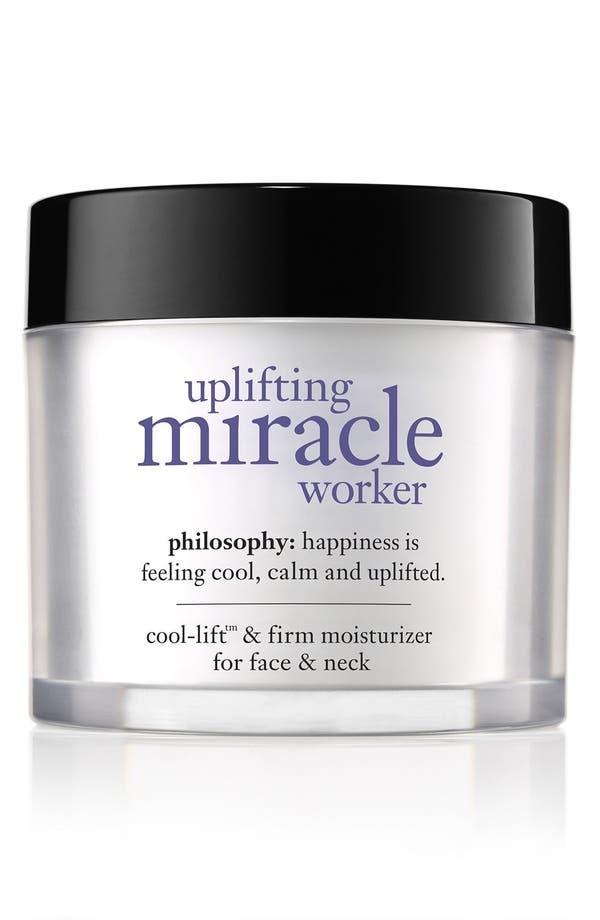 Main Image - philosophy 'uplifting miracle worker' face moisturizer