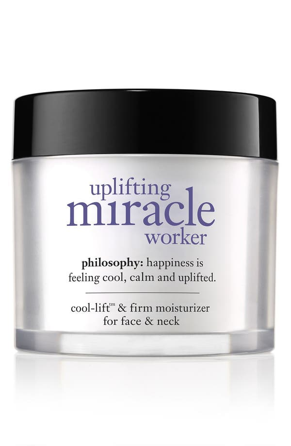 'uplifting miracle worker' face moisturizer,                         Main,                         color, No Color