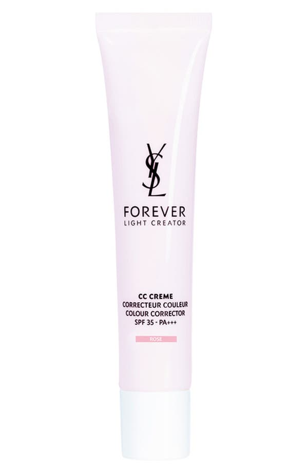 Alternate Image 1 Selected - Yves Saint Laurent 'Forever Light Creator' CC Creme Colour Corrector SPF 35