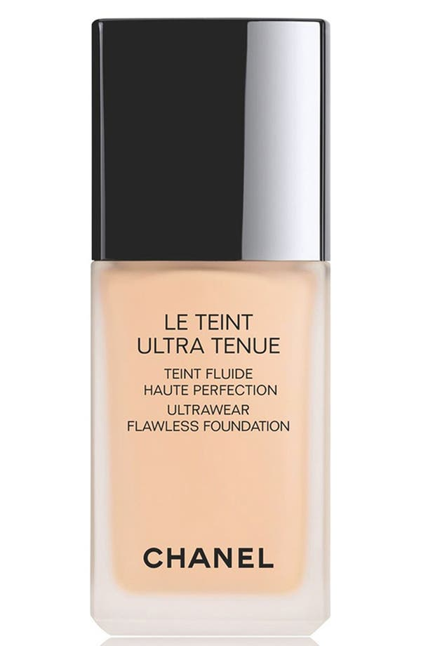 Alternate Image 1 Selected - CHANEL LE TEINT ULTRA TENUE  Ultrawear Flawless Foundation