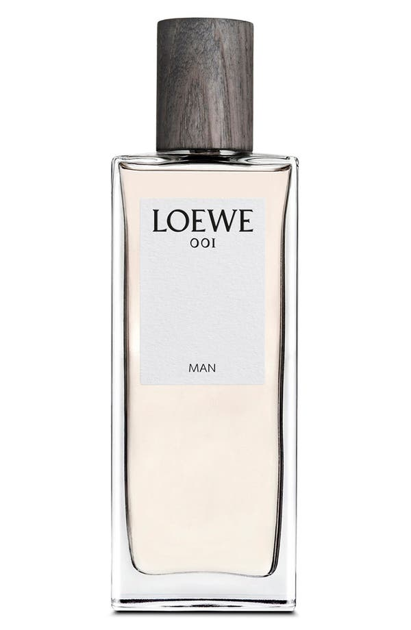 '001 Man' Eau de Parfum,                             Main thumbnail 1, color,                             No Color