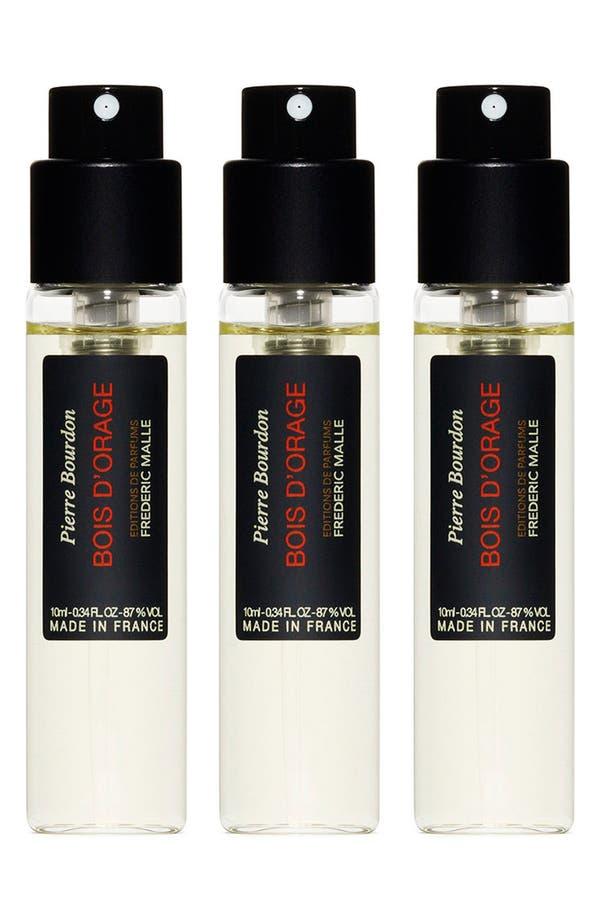 Alternate Image 1 Selected - Editions de Parfums Frédéric Malle Bois d'Orange Parfum Travel Spray Trio