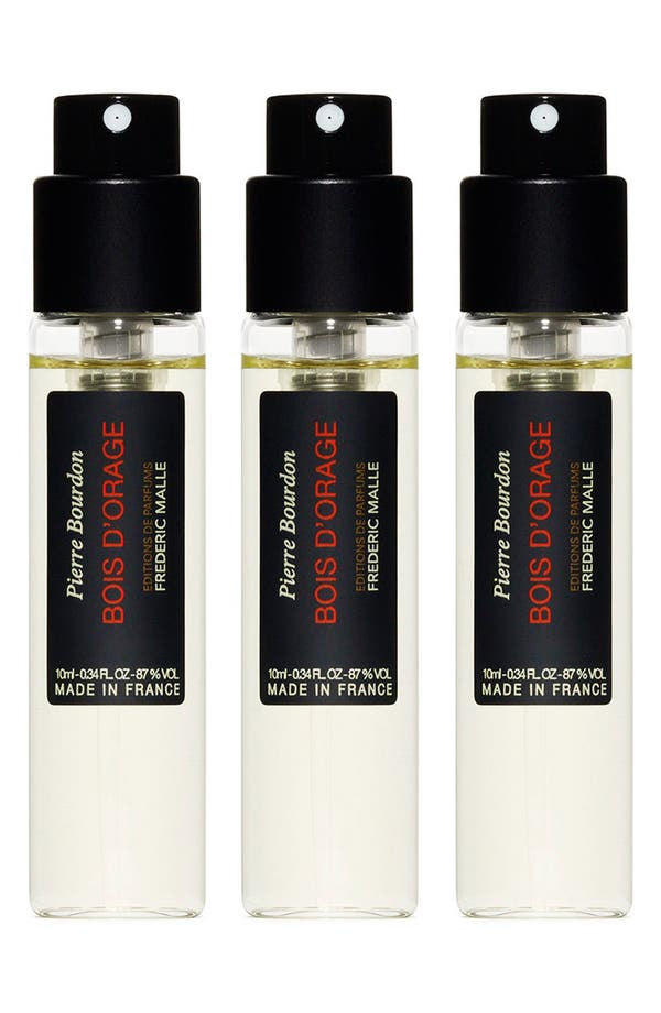 Main Image - Editions de Parfums Frédéric Malle Bois d'Orange Parfum Travel Spray Trio