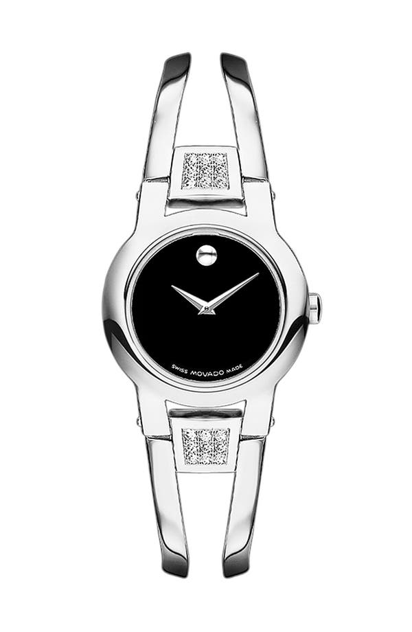 Alternate Image 1 Selected - Movado 'Amorosa' Bracelet Watch, 24mm (Regular Retail Price: $995.00)