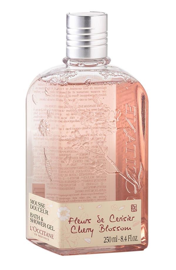 Main Image - L'Occitane 'Cherry Blossom' Bath & Shower Gel