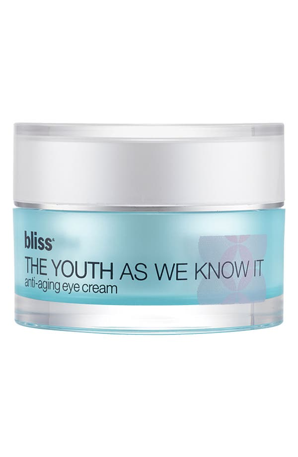 Main Image - bliss® 'The Youth as We Know It' Anti-Aging Eye Cream