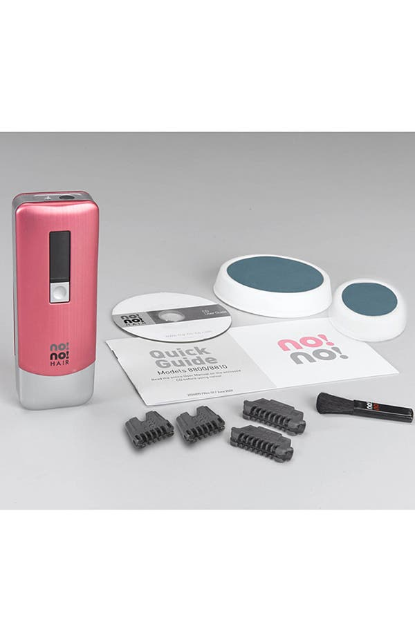 Alternate Image 2  - no!no! Hair '8800 Pink' Hair Removal System