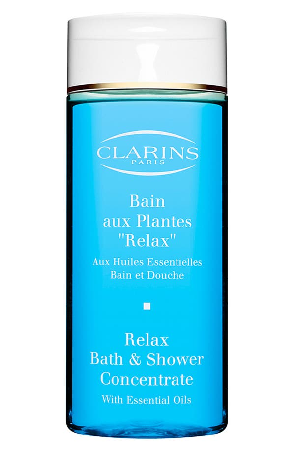Alternate Image 1 Selected - Clarins 'Relax' Bath & Shower Concentrate