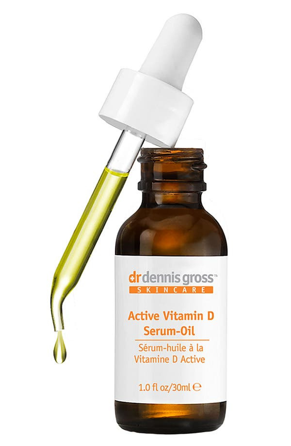 Alternate Image 1 Selected - Dr. Dennis Gross Skincare Active Vitamin D Serum-Oil ($221 Value)