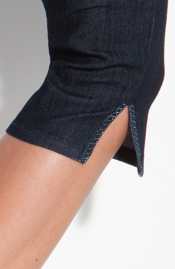 Alternate Image 4  - NYDJ 'Joan' Embellished Crop Stretch Jeans