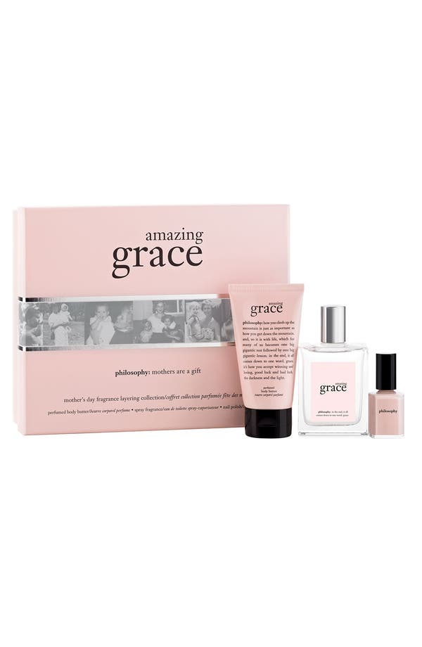 Alternate Image 1 Selected - philosophy 'amazing grace' gift set ($70 Value)