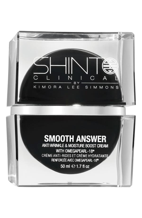 Alternate Image 1 Selected - Shinto Clinical 'Smooth Answer' Anti-Aging Hydrating Cream