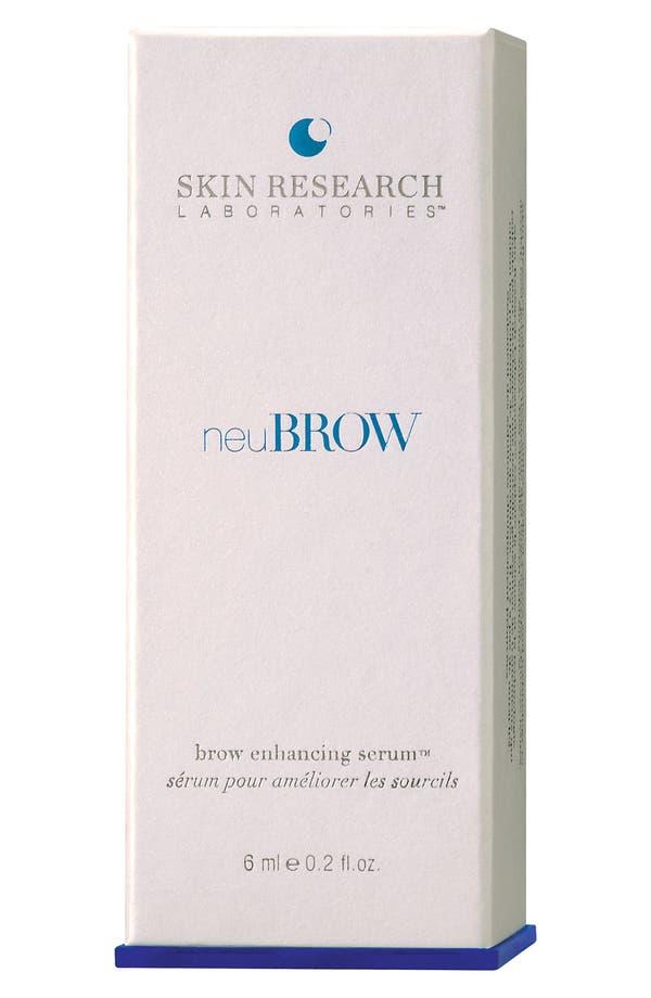 Alternate Image 2  - neuBROW® by Skin Research Laboratories Brow Enhancing Serum