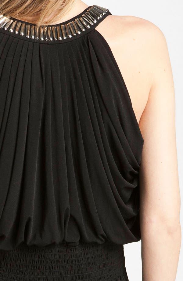 Alternate Image 3  - Calvin Klein Embellished Draped Jersey Dress