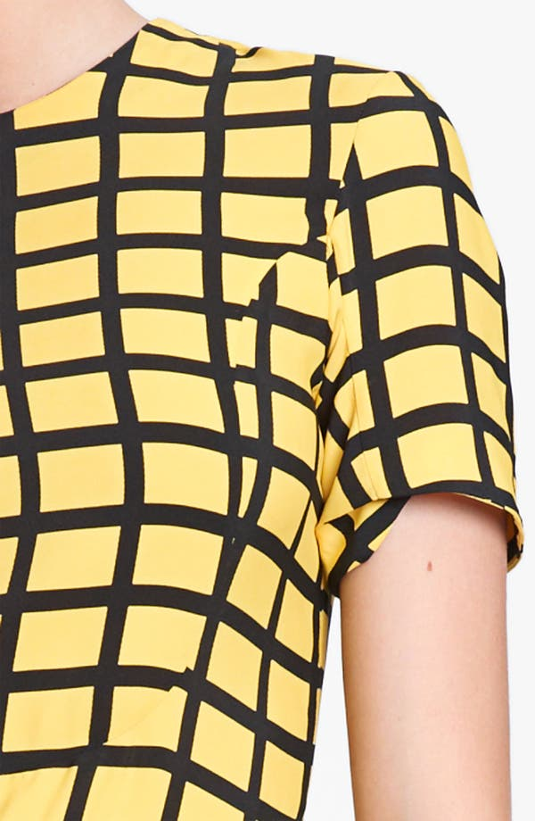 Alternate Image 3  - Marni Edition Grid Print Woven Dress