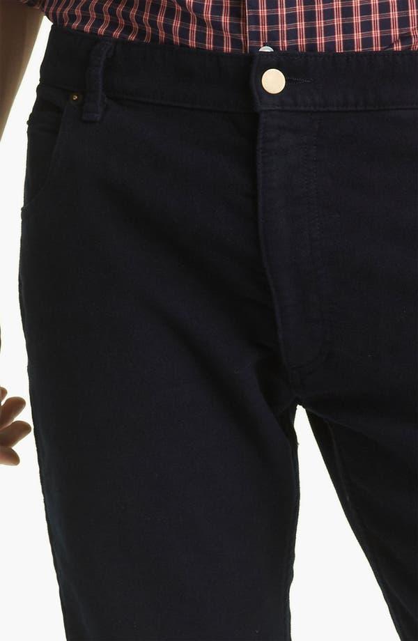 Alternate Image 3  - Billy Reid Straight Leg Jeans (Navy)