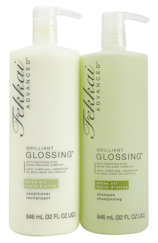 Alternate Image 1 Selected - Fekkai Jumbo 'Brilliant Glossing™' Shampoo & Conditioner Set (Nordstrom Exclusive) ($128 Value)