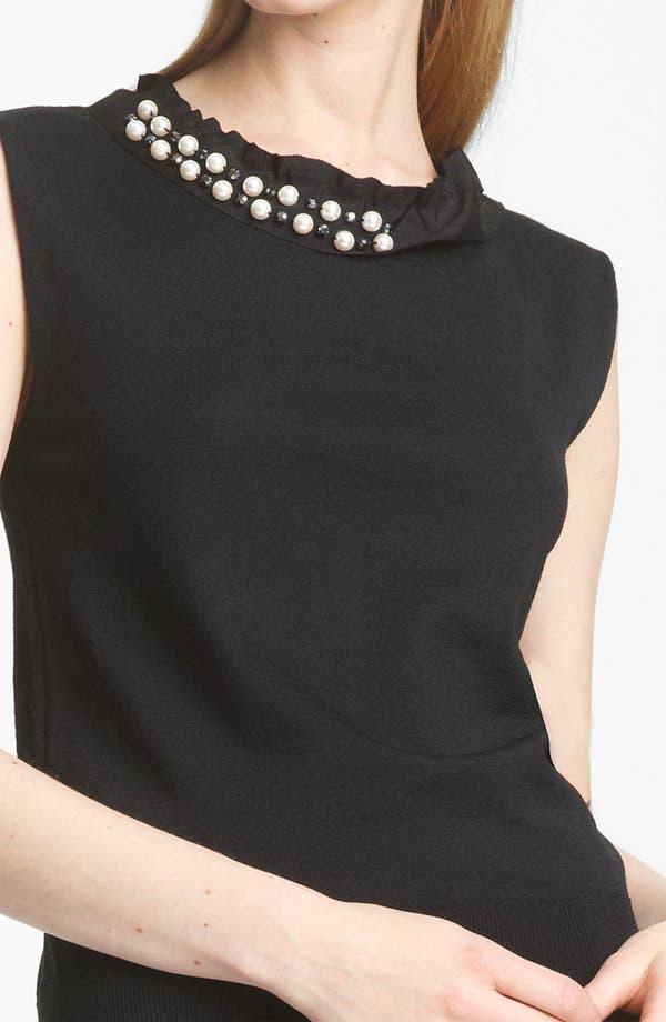Alternate Image 2  - Lanvin Embellished Merino Wool Top