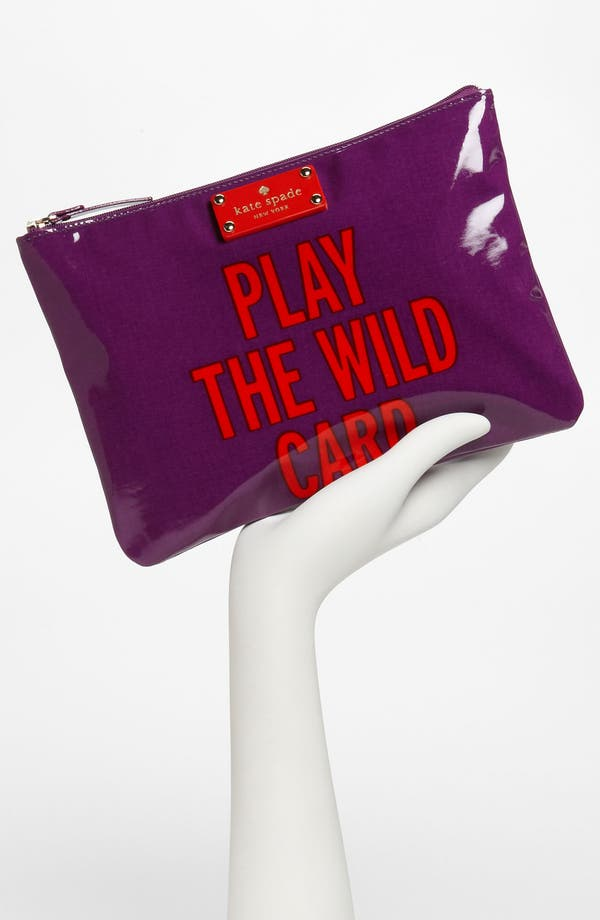 Alternate Image 2  - kate spade new york 'daycation - gia' flat pouch